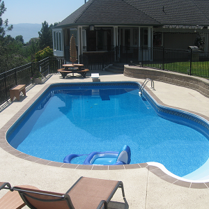 Inground Pool Concrete Project in Eugene