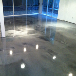 Retail Concrete Stained Floor in Eugene