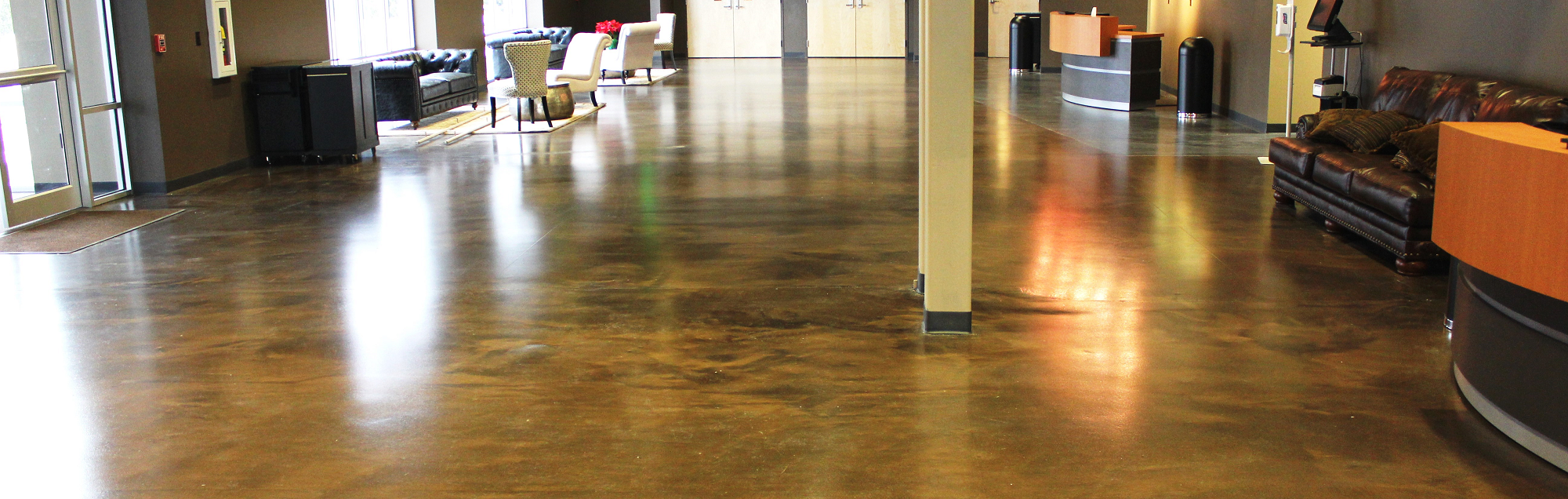 Decorative Concrete Flooring Contractor Eugene
